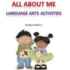 All About Me Language Arts Activities