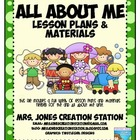 All About Me &amp; More... Lesson Plans and Materials