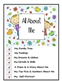 All About Me Printable Mini Unit