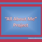 All About Me Project Middle Grades