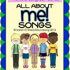 All About Me Songs (5 original MP3 songs with karaoke versions)