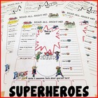 Superhero All About Me Printable