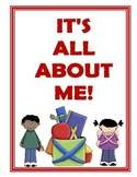 All About Me Take Home Book