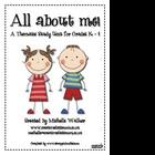 All About Me! Thematic Unit