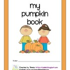 All About My Pumpkin Book