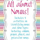 All About Nouns Activity Pack