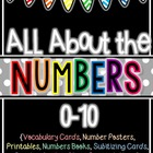 All About the Numbers 0-10 {Printables, Books, Centers, An