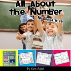 All About Numbers Pages, Numbers 11-20