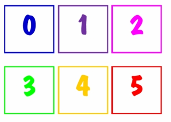All About Numbers Pocket Chart Cards
