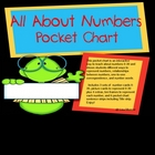 All About Numbers-Pocket Chart