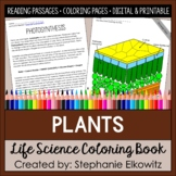 All About Plants Coloring Book
