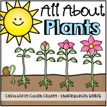 All About Plants: Math, Literacy, and SO Much More! (Aligned to Common Core)