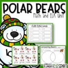 All About Polar Bears {A Math/ELA Unit}