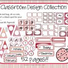 &quot;All About Red&quot; Classroom Design Collection Pack