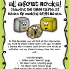 All About Rocks: Edible Rocks!