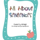 All About Sentences Worksheets