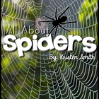 All About Spiders - using and learning science vocabulary