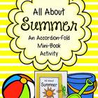 All About Summer ~ Accordion Fold Mini-Book Activity
