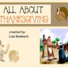 All About Thanksgiving SmartBoard Lesson for Primary Grade