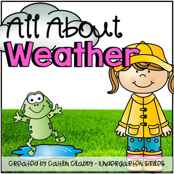 All About Weather: Math, Literacy, and SO Much More! (Aligned to Common Core)