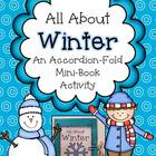 All About Winter ~ Accordion Fold Mini-Book Activity