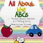 """All About the ABC's"" - Alphabet Printables"