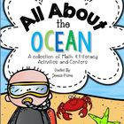 All About the Ocean (Math &amp; Literacy Activities &amp; Centers!)