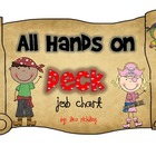 All Hands on Deck Pirate Classroom Job Chart