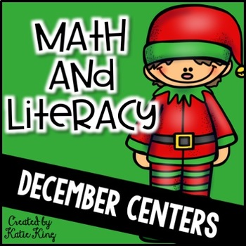 All I want for Christmas: 10 Common Core Literacy Centers AND 10 Math Centers