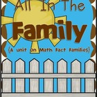 All In The Family {Fact Family Resources For The Four Operations}