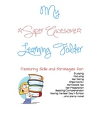 All-Inclusive Learning Skills and Strategies Folder - Blue & Pink