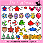 All Occasions Coordinates Clip Art Mega Value Pack - Perso