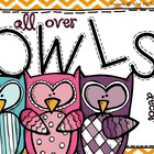All Over Owls {Classroom Decor}