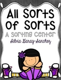 All Sorts of Sorts: A Sorting Center
