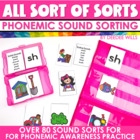 All Sorts of Sorts the Quintessential Phonemic Sound Sort Bundle