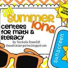 All Summer Long: Centers for Math and Literacy