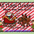 All Things Christmas {Santa, Elves, Reindeer, OH MY! Math