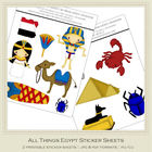 All Things Egypt Printable Sticker/Graphics Sheets