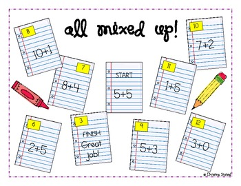 All Together Now! {8 Hands-On Addition Math Centers}