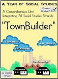 "Social Studies: All Year ""TownBuilder!"" Grades 2-3"