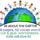 All about the Earth! Landforms &amp; bodies of water! Activiti