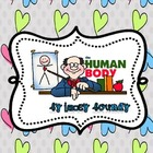 All about the HUMAN BODY! 42 vocab words!