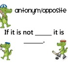 Alligator Antonyms