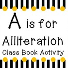 Alliteration Class Book