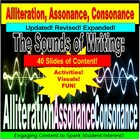 Alliteration, Consonance, Assonance PowerPoint Lessons