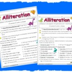 Alliteration Worksheet Printable Activity Page