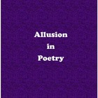 Allusion in Poetry