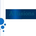 Allusions - the most common types of allusions