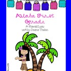 Aloha First Grade Hawaiian Luau Activities