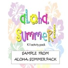 Aloha, Summer!  sample
